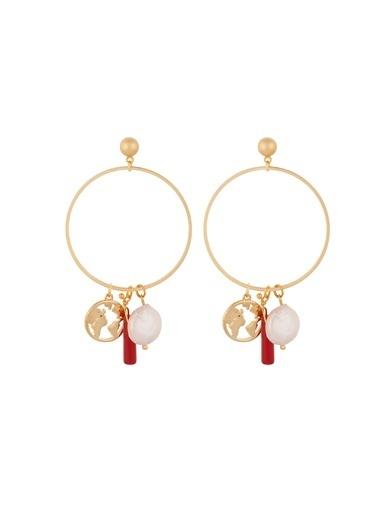 Amulette Jewel Küpe Kırmızı